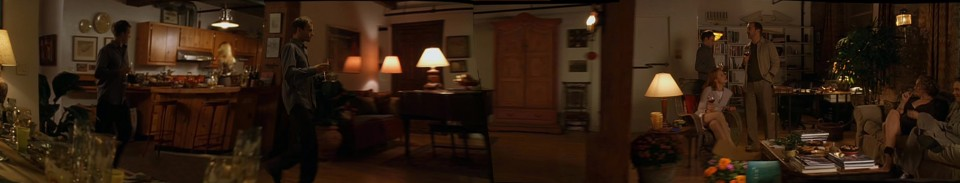 Montaje de una de las casa de Melinda y Melinda